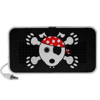 Perro del pirata mini altavoces