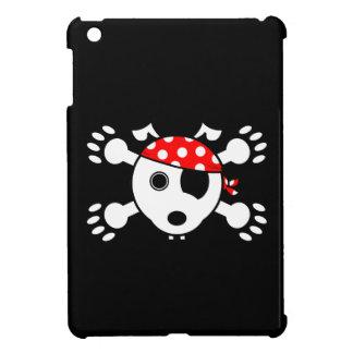 Perro del pirata iPad mini carcasas