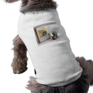perro del producto de la T-mierda Playera Sin Mangas Para Perro