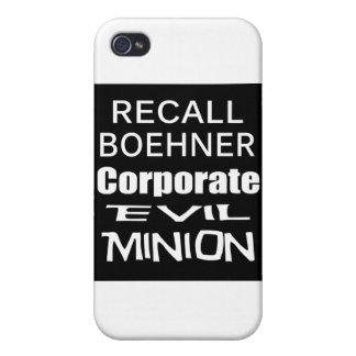 Perro del revestimiento del aceite de Juan Boehner iPhone 4 Fundas
