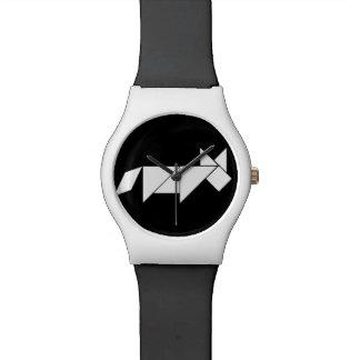 perro del rompecabezas chino reloj