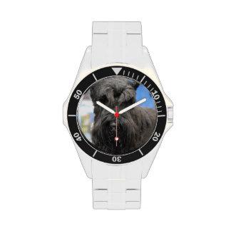 Perro del Schnauzer Reloj De Mano