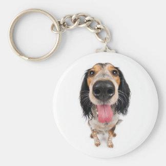 Perro del señor llaveros personalizados