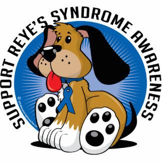 Perro del síndrome de Reye Fotoescultura Vertical