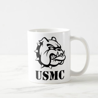 Perro del USMC Taza Clásica