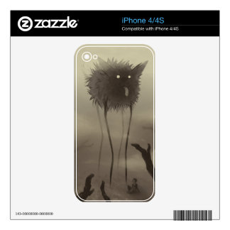 Perro del zanco iPhone 4 skins