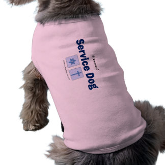 ¡Perro ecuménico del servicio! Playera Sin Mangas Para Perro