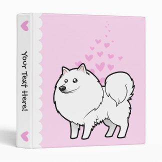 """Perro esquimal americano/amor alemán del perro de  carpeta 1"""""""