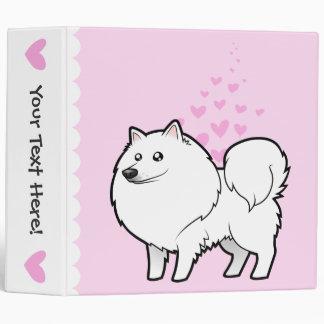 """Perro esquimal americano/amor alemán del perro de  carpeta 2"""""""