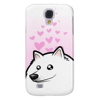 Perro esquimal americano/amor alemán del perro de funda para samsung galaxy s4