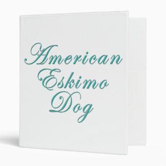 """Perro esquimal americano carpeta 1"""""""