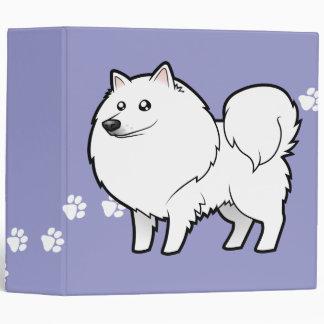 "Perro esquimal americano del dibujo animado/perro  carpeta 2"""