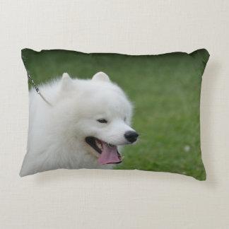 Perro esquimal americano dulce cojín decorativo