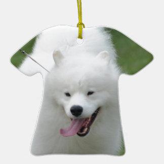 Perro esquimal americano lindo ornamentos de reyes