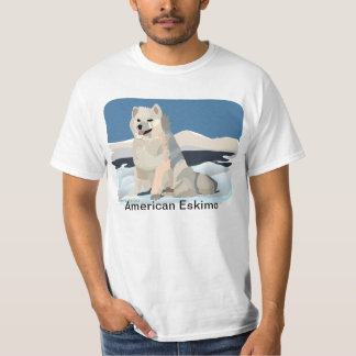 Perro esquimal americano playera