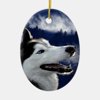 Perro esquimal de Alaska Ornamentos De Reyes