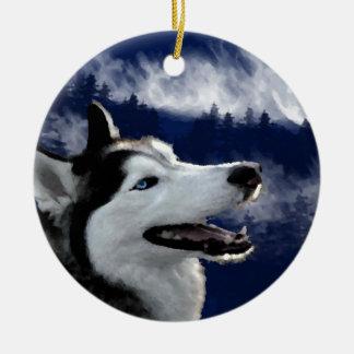 Perro esquimal de Alaska Adornos