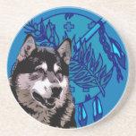 Perro esquimal de Oklahoma Posavasos Personalizados