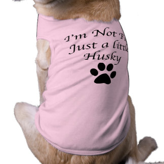 Perro esquimal divertido playera sin mangas para perro