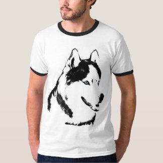 Perro esquimal fornido Shir del perro de trineo de Remeras