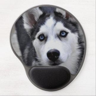 Perro esquimal lindo alfombrilla gel
