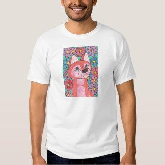 Perro esquimal rojo poleras