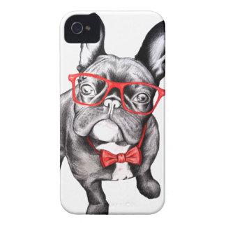 Perro feliz iPhone 4 cárcasas