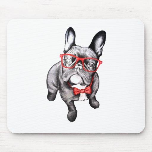 Perro feliz tapetes de raton