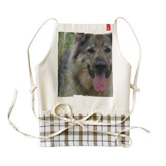 Perro finlandés de Lapphund Delantal Zazzle HEART