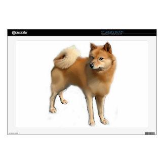 Perro finlandés del perro de Pomerania Portátil 43,2cm Skins