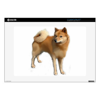 Perro finlandés del perro de Pomerania Portátil Skins