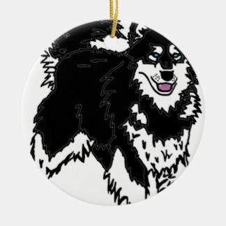 Perro fornido de Alaska Adornos