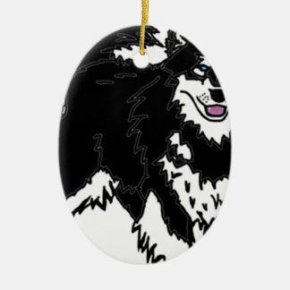 Perro fornido de Alaska Ornato