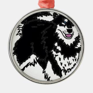 Perro fornido de Alaska Ornamento Para Reyes Magos