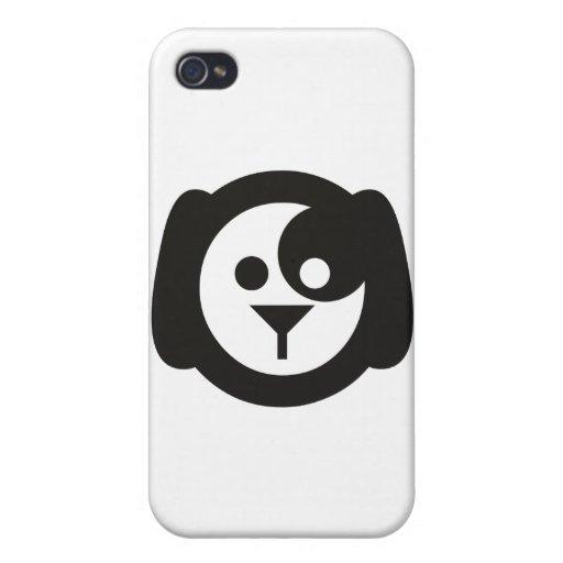 Perro fresco iPhone 4 cárcasa
