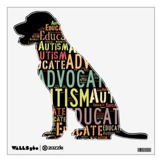 perro GoTeamKate de la etiqueta de la pared del au Vinilo Adhesivo