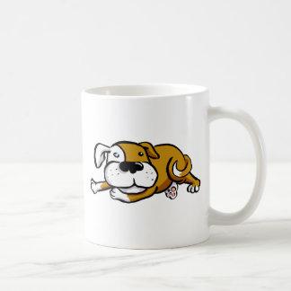 Perro grande del amor taza de café