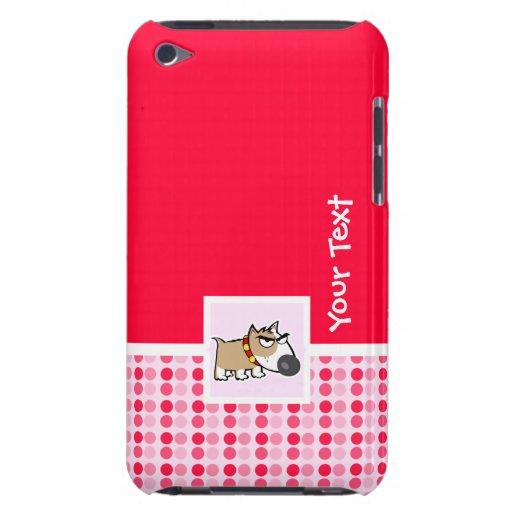 Perro gruñón lindo iPod Case-Mate fundas