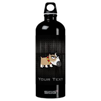 Perro gruñón; Rugoso Botella De Agua