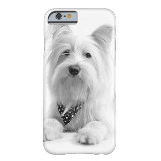 Perro guapo funda de iPhone 6 barely there