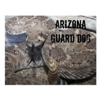 Perro guardián de Arizona Tarjeta Postal