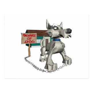 Perro guardián postal