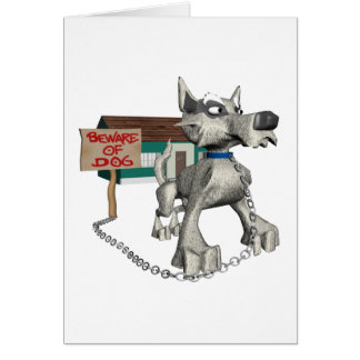 Perro guardián tarjeton