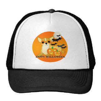 Perro Halloween de la chihuahua Gorras De Camionero