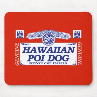Perro hawaiano del Poi Tapete De Raton