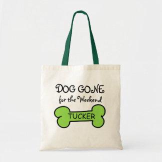 Perro ido para el bolso del fin de semana bolsas