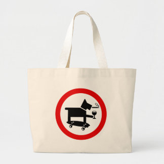 Perro impresionante bolsa de mano