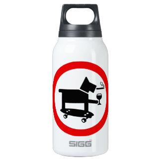 Perro impresionante botella isotérmica de agua