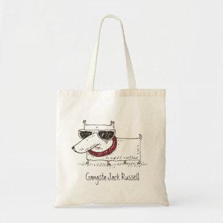 Perro Jack Russell Terrier de la diversión de Gang Bolsa Tela Barata