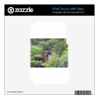 Perro japonés del jardín skins para iPod touch 4G